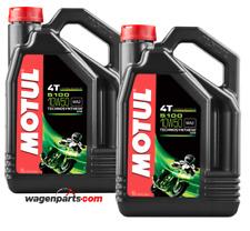 Lubricante Aceite Moto 4 tiempos Semi Syn MOTUL 5100 4T 10W50, Pack 8 litros
