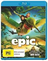 """""""Epic"""" (BLURAY 2013)- Movie From the Creators of Ice Age - REGION B - FREE POST!"""