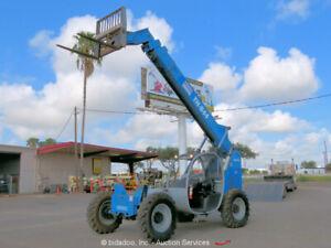 2012 Genie GTH-844 44' 8,000 lbs Telescopic Reach Forklift Telehandler bidadoo