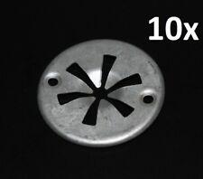 Für Seat 10x Befestigungs Klemmscheibe Clips Motorabdeckung Hitzeschutzblech