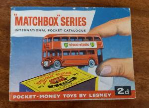 MATCHBOX SERIES INTERNATIONAL POCKET CATALOGUE