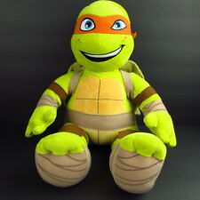 "Build A Bear Teenage Mutant Ninja Turtle Michelangelo 19"" Plush TMNT nickelodeon"