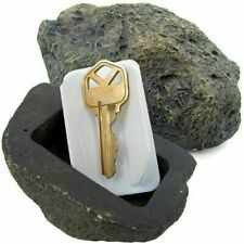 FingerLakes Hide-a-Key Fake Rock Looks & Feels Like Real Stone - Yard Geocaching