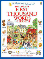 First Thousand Words in French by Heather Amery (Paperback, 2013)