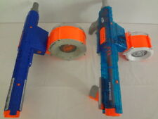 Nerf N-Strike Raider Cs-35 and Translucent Rampage w/ Drums Attachment Lot