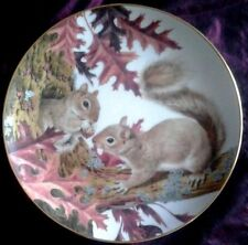 Plates/Spoons Ceramic/Pottery Squirrel Collectables