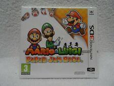 Mario & Luigi Paper Jam Bros. - 3DS Game - * Brand New, Sealed * - UK Pal