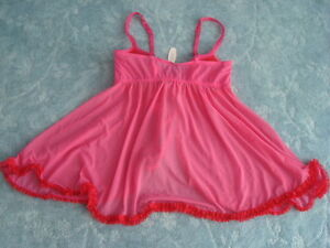 VICTORIA'S SECRET SEXY LITTLE THINGS BABYDOLL/THONG SET 36C