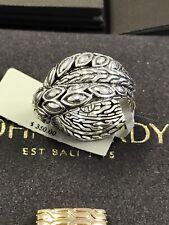 JOHN HARDY Women's Padi Silver Twist Ring Size 7