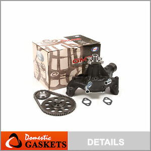 99-07 Chevrolet Express GMC Savanna 4.3L OHV Timing Chain Water Pump Kit VIN W X