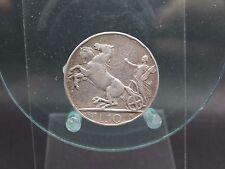 10 liras 1927 limpiaba Italia