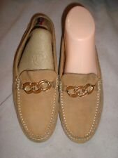 TOMMY HILFIGER UK 4 EU 37 US 6.5 Light Brown Leather driver shoes  RRP £120.00