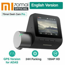 Xiaomi 70mai Dash Cam Pro 1944P GPS ADAS English Version 24H Parking Monitor