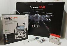 Walkera Scout X4 Carbon Drone Multi-function Quad Copter w/ Camera & FPV Radio
