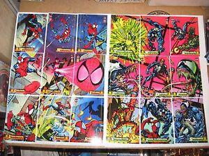 1994 MARVEL FLEER AMAZING SPIDER-MAN 150 COMPLETE BASE CARD SET! VENOM CARNAGE!