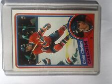 Chris Chelios @ Montreal Canadiens rookie card 1984-85 OPC #259 M ungraded