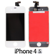 IPHONE 4S LCD SCHERMO DISPLAY RETINA TOUCH SCREEN VETRO FRAME BIANCO