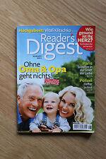 Readers Digest August 2011 Vitali Klitschko Ohne Oma & Opa geht es nicht Herz