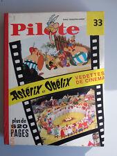 Reliure éditeur Recueil n°33 du journal Pilote belge n°419 à 431 Astérix 1967 TB