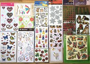 Stickersammlung Kids Sticker Stickers Aufkleber, Basteln, #Set Z136