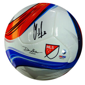 CLINT DEMPSEY AUTOGRAPHED ADIDAS SOCCER BALL SEATTLE SOUNDERS PSA ITP 89901