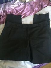 WOMENS  TOPSHOP  WORK  TROUSERS  LADIES SIZE 14  BLACK