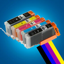 5 Ink Cartridges for Canon Pixma MG5750 MG5751 MG5752 MG5753 MG6850 MG6851 P