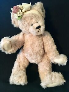 Annette Funicello Heather COA Stuffed Collectible Bear Co. Full Jointed Orig Box