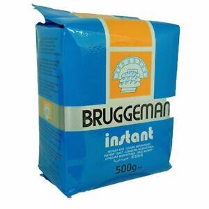 BRUGGMAN-Trockenhefe Backhefe zum Backen Instant Hefepulver 500g