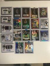 2019 Prizm Jace Sternberger Auto Packers Lot Of 19 Different Prizm , Contenders