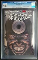 Amazing Spider-Man #572 Marvel Comics CGC 9.8 White Pages Fitch Variant