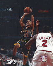 REGGIE MILLER INDIANA 8 X 10 PHOTO WITH ULTRA PRO TOPLOADER