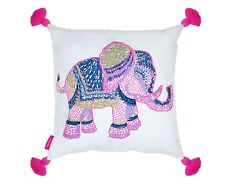 LILLY PULITZER ELEPHANT Large LG Indoor Outdoor Pillow 18 X 18 LG Home Decor NEW