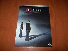 X FILES CREER ES LA CLAVE EDICIÓN ESPECIAL 2 DISCOS DVD PRECINTADO