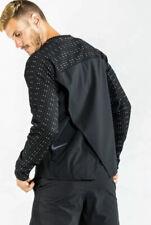 Nike Tech Pack Men's Long Sleeve Running REPEL Top Black  SMALL - BV5683-010