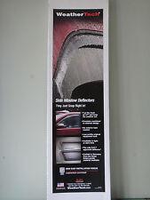 WEATHERTECH RAIN GUARDS VENT VISORS 14-15 CHEVY Silverado GMC Sierra 84740