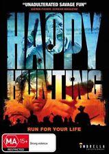 Happy Hunting (DVD, 2017) (Region All NTSC) Aussie Release