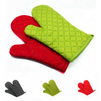 1Pc Heat Resistant Glove Mitt Silicone Gloves Kitchen BBQ Oven Cooking Tools