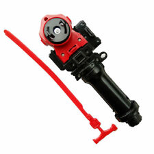 Black+Red Beyblade Ripper LL2 Launcher BeyLauncher with Ripcord+String Grip