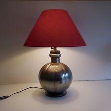 Eclairage lampe table chevet salon fait main lighting lamp handmade art déco XXe