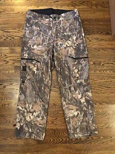Browning Gore-Tex Hunting Pants Large Camo Waterproof Fleece Winter Duck Deer