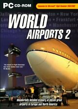 World Airports 2 Add-On for FS 2002/2004 (PC CD).
