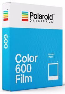 POLAROID COLOR 600 FARBFILM für Polaroid 600 Kameras Herstellungsdatum 05/2021