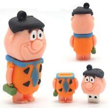Clé USB 3D design Pierrafeu/Flintstones 128Mo Idée cadeau NEUVE