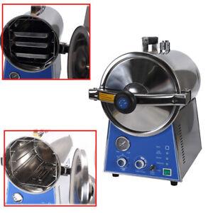 24L Dental Medical High Pressure Steam Autoclave Sterilizer Stainless TM-T24J
