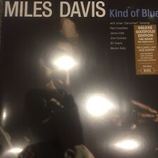 MILES DAVIS 'KIND OF BLUE LP' 2017 DELUXE GATEFOLD 180 G VINYL LP - NEW + SEALED