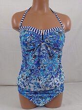 VM  One Piece Maternity Swim Suit Medium Aqua 119C