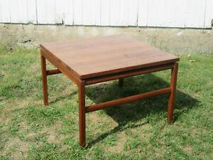 The Gunlocke Co MCM Mid Century Modern Black Walnut Floating Coffee Table