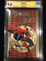 SPAWN #300 Silver Foil Edition CGC 9.6 TODD MCFARLANE Signed. Limited To 1500.