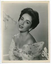 Elizabeth Taylor 1950 Stunning Portrait Original Glamour Photo J1394A